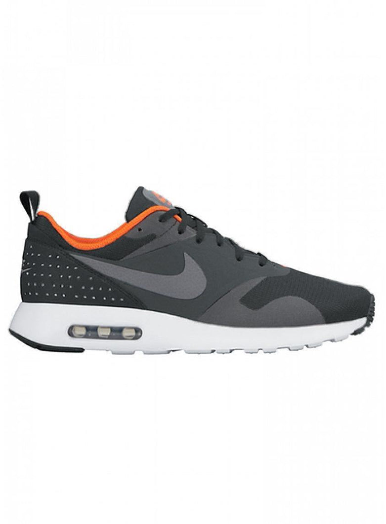 Air Max Tavas Black Dark Grey Crimson - Bricks and Bonds