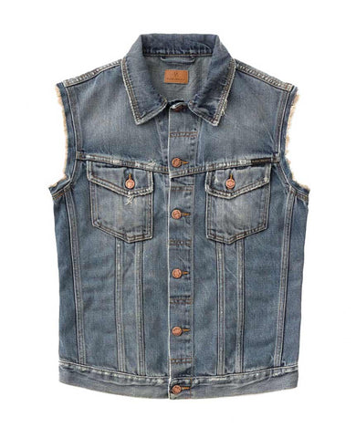 Willy Vest Shimmering Indigo Denim