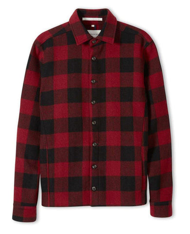 Wool Over Blanket Shirt Buffalo