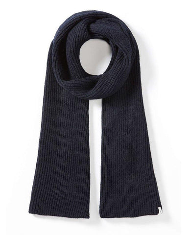 Porter Ribbed Scarf Navy