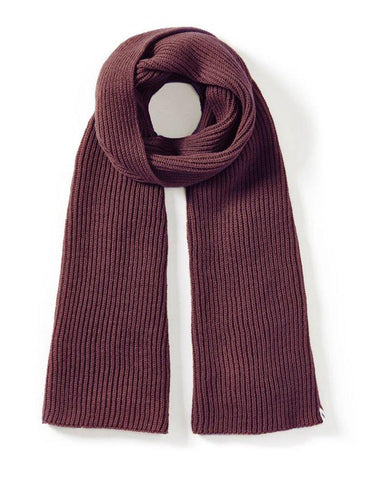 Porter Ribbed Scarf  Shiraz