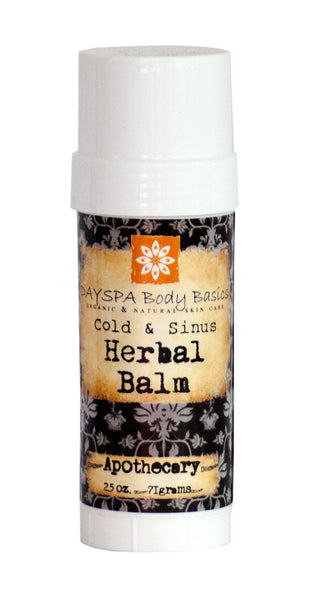 Cold & Sinus Herbal Balm