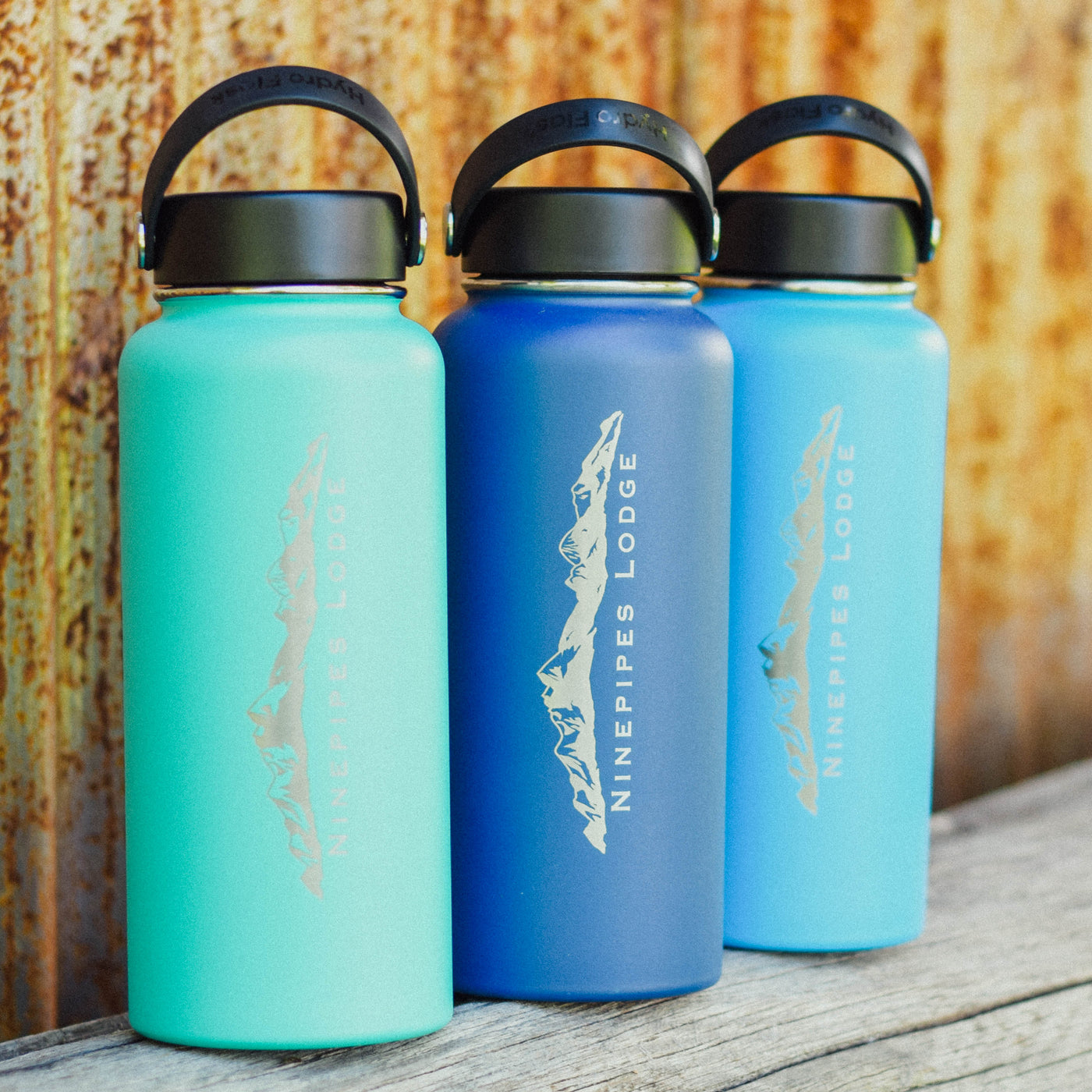 Ninepipes HydroFlask Water Bottles
