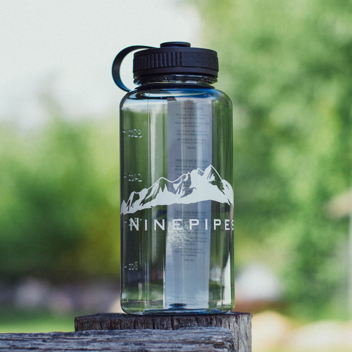 Ninepipes Water Bottle
