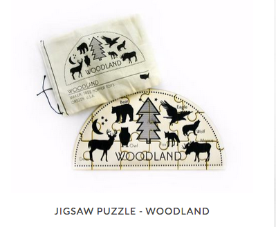 Jig Saw Puzzle Woodland