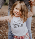 Adventure Like a Girl Raglan