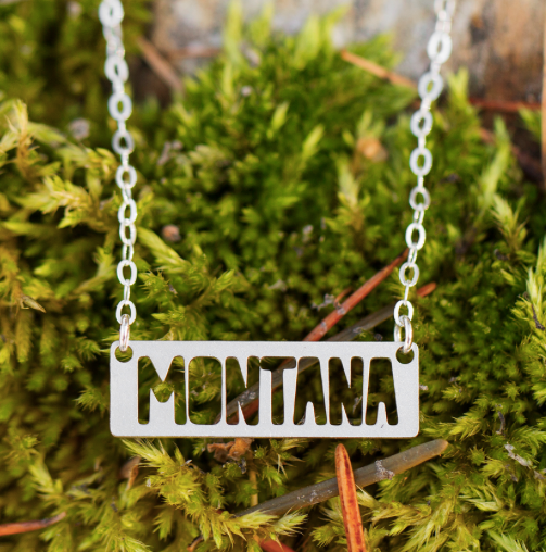 Montana Bar Necklace