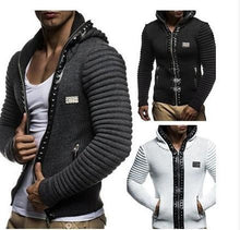 Load image into Gallery viewer, Solid Color Rivet Paneled Cardigan Coat