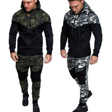Load image into Gallery viewer, Camouflage Sports Large Size Suit