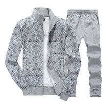 Load image into Gallery viewer, Printed Fashion Large Size Sportswear Suit