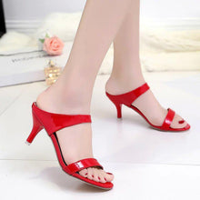 Load image into Gallery viewer, Fashion Pure Color High Heel Sandals