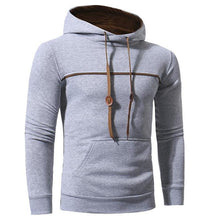Load image into Gallery viewer, Fashion Casual Sport Slim Plain Long Sleeve Hoodie