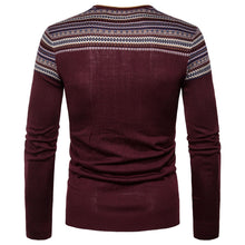 Load image into Gallery viewer, Fashion Mens V-Neck Knit Sweaters