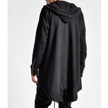 Load image into Gallery viewer, Men's Sweater Long Hooded Cloak Casual Jacket