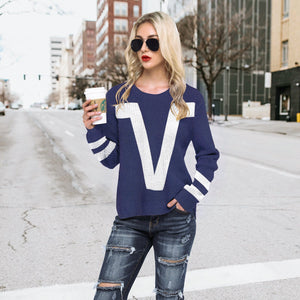 Fashion Jacquard Sweater