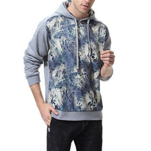 Load image into Gallery viewer, Fashion Youth Casual Loose Print Long Sleeve Men Sport Hoodie