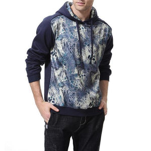 Fashion Youth Casual Loose Print Long Sleeve Men Sport Hoodie