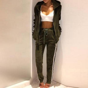 Loose Slim Sports Suit
