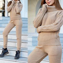 Load image into Gallery viewer, Twist Sweater Knit Suit