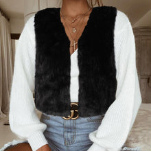 Load image into Gallery viewer, Fashion Warm Fur Sleeveless Outwear