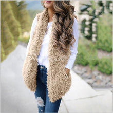 Load image into Gallery viewer, Fashion Solid Color Warm Vest