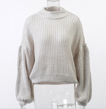 Load image into Gallery viewer, Plain Knit Sweater