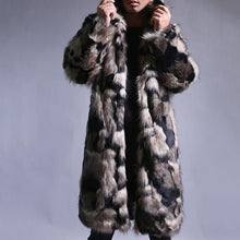 Load image into Gallery viewer, Men's Fur Coat Contrast Color Fashion