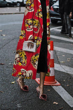 Load image into Gallery viewer, Fashion Retro Dragon Print Coat Coat