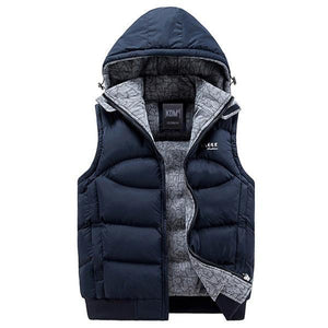 New Fashion Casual Cotton-Padded Men's Vest