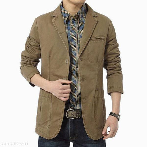 100% Cotton Mens Jacket 3 Colors