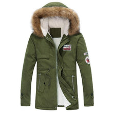 Load image into Gallery viewer, Slim Thicken Fur Outwear Warm Coat