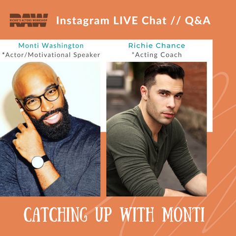IG live chat with Monti Washington and Richie Chance