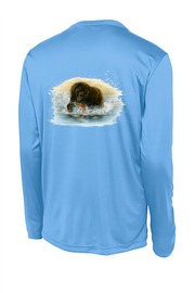 Grizzly Long Sleeve Tech Tee