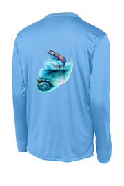 Rainbow Trout Long Sleeve Tech Tee