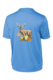 White Tail Short Sleeve Tech Tee