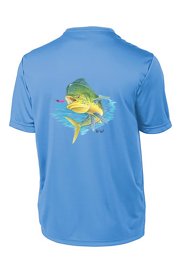 Mahi Short Sleeve Tech Tee