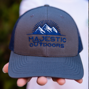 Majestic Outdoors Navy & Charcoal Hat