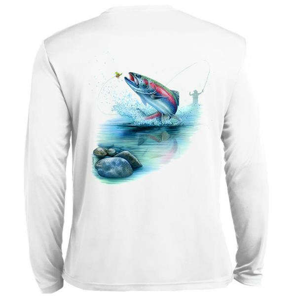 Rainbow Trout Tech Tee