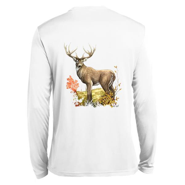 White Tail Deer Tech Tee