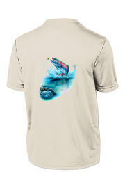Rainbow Trout Short Sleeve Tech Tee