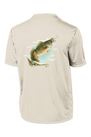Walleye Short Sleeve Tech Tee