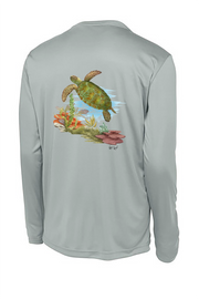 Sea Turtle Long Sleeve Tech Tee