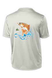 Brown Trout Short Sleeve Tech Tee