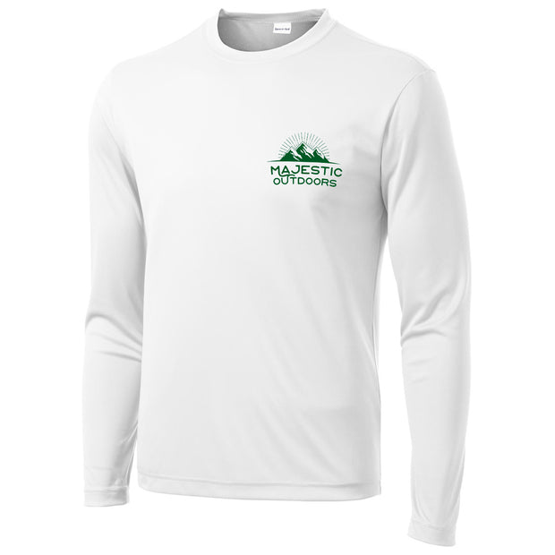 Walleye Long Sleeve Tech Tee