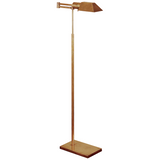 Swing Arm Adjustable Floor Lamp 57""