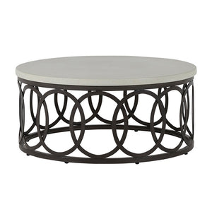 Emma Outdoor Aluminum Coffee Table
