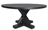 Criss Cross Round Dining Table