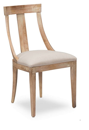 Italian Deco Dining Chair - 4 Finishes