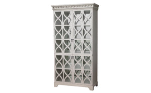 Lace Glass Cabinet