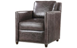 Leather Club Chair - 2 Colors